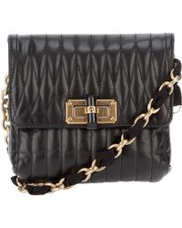 Lanvin Quilted Leather Bag - Lyst