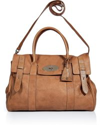 Mulberry Fudge Heritage Bayswater Bag - Lyst