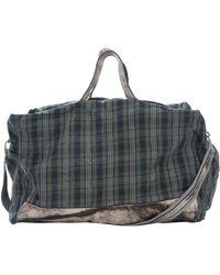 Numero 10 - Checked Shoulder Bag - Lyst