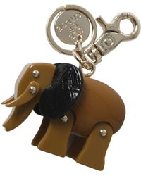 See By Chloé Brown Elephant Keyring