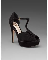 House Of Harlow 1960 Laina Suede Heel - Lyst