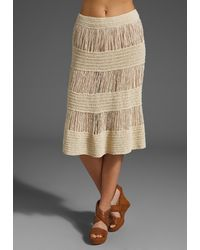 Marc By Marc Jacobs Ro Ro Sweater Skirt beige - Lyst