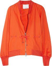 3.1 Phillip Lim Cotton-blend Twill Jacket - Lyst