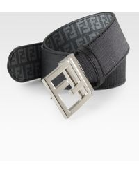 Fendi Logo Reversible Belt - Lyst