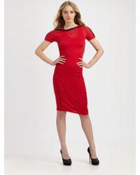McQ by Alexander McQueen Zipneck Dress - Lyst