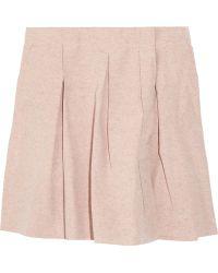 Bally - Silk Skirt - Lyst