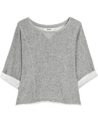 Lover - Practise Cropped Cotton Sweater - Lyst