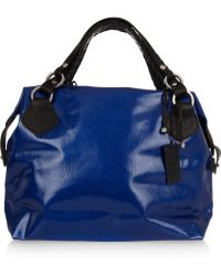 Pauric Sweeney - Overnight Textured-leather Tote - Lyst