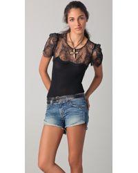 Raquel Allegra - Lace Bodysuit - Lyst