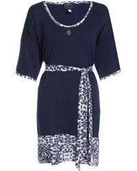 Class Roberto Cavalli Leopard Knit Dress - Lyst