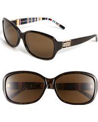 Kate Spade 'Annika/P/S' 56Mm Polarized Oversized Sunglasses - Lyst