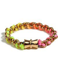 Bex Rox | Golden Fluoro Friendship Bracelet | Lyst