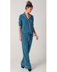 Equipment Avery Pyjama Set - Blue