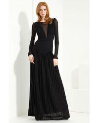 Burberry Prorsum Jersey Gown - Lyst