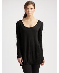 Donna Karan New York Tissue Long-sleeve Shirt - Lyst