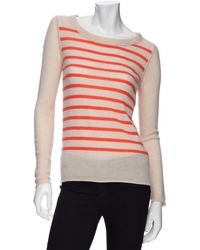 Duffy - Cashmere Striped Sweater - Lyst