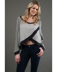 Free People Slub Jersey Pullover Sweater - Lyst