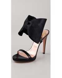 Viktor & Rolf - High Heel Bow Sandals - Lyst
