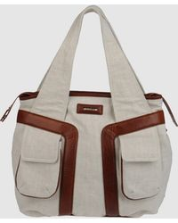 Studio Pollini - Large Fabric Bag - Lyst