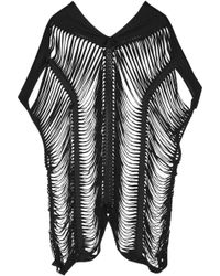 Agent Provocateur - Tahloola Shred-effect Tunic - Lyst