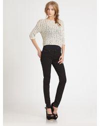 Alice + Olivia Boxy Sweater - Lyst