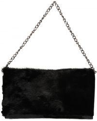 Diverso Italiano - Visone E Vernice Shoulder Bag - Lyst