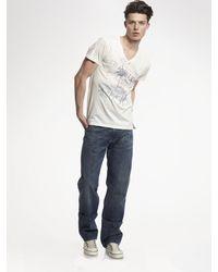 7 For All Mankind Austyn Sangley Straight-leg Jeans - Lyst