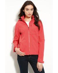 Calvin Klein Zip Front Jacket with Detachable Hood - Lyst