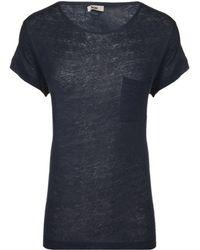 Acne Studios Granville Linen T-shirt - Lyst