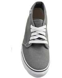 Vans The Chukka Boot in Charcoal gray - Lyst