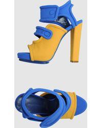 Balenciaga Platform Sandals - Lyst