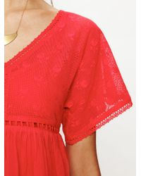 Free People Ethnic Lace Dress - Lyst