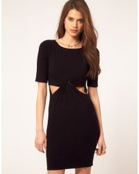 ASOS Collection Asos Bodycon with Cut Out Detail - Lyst