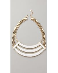 Belle Noel | Enameled Collar Necklace | Lyst