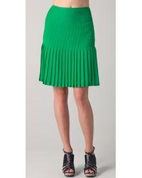 Catherine Malandrino - Pleated Skirt - Lyst