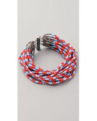 Bluma Project - Tribal Stripe Bracelet - Lyst