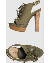 Emilio Pucci Platform Sandals - Lyst