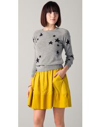 Chinti & Parker Star Sweater gray - Lyst
