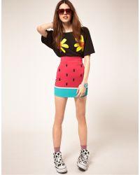 Lazy Oaf - Watermelon Skirt - Lyst