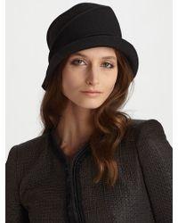 Armani - Felted Wool Cloche - Lyst
