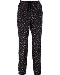 Girl by Band of Outsiders - Printed Silk Trousers - Lyst