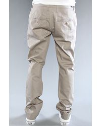 Cheap Monday The Slim Chino Pants in Grey Brown - Lyst