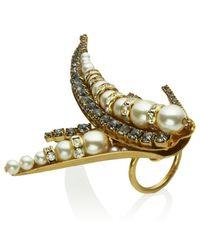Erickson Beamon - Beauty and The Beast Ring - Lyst