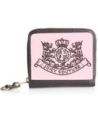 Juicy Couture - Scottie Small Zip Wallet - Lyst