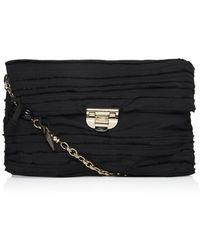 Nina Ricci Liane Large Embroidered Pouch Bag - Lyst