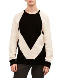 Alexander Wang Intarsia Sweater - Lyst