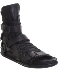Ann Demeulemeester - Lace-up Gladiator Sandal - Lyst