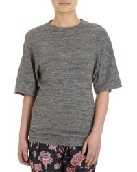 Etoile Isabel Marant Gathered Back Top - Lyst