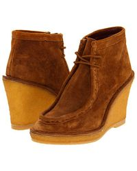 Marc By Marc Jacobs Wedge Boots - Lyst