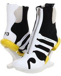 b47b3a5beffa Y-3 - Oriah Boot White - Lyst